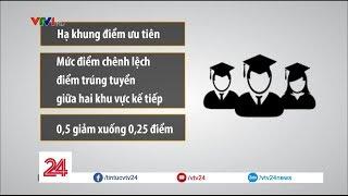 Dự thảo tuyển sinh 2018 | VTV24