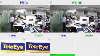 WQHD - The Optimal Resolution for HD Video Surveillance