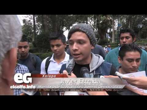 Anuncian estudiantes marcha pacífica en Xalapa
