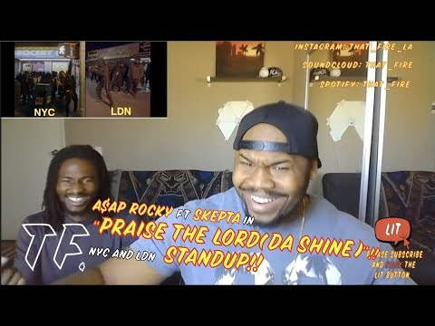 A$AP Rocky - Praise The Lord (Da Shine) (Official Video) ft.  Skepta (Thatfire Reaction)