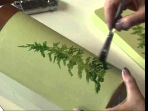 How To Paint Ferns Acrylic