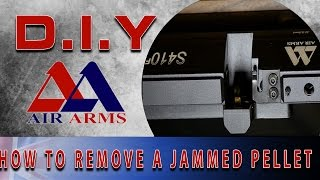 Air Arms D.I.Y: How To Remove a Jammed Pellet From Your Rifle