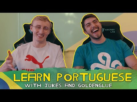 LEARN PORTUGUESE! with Jukes and Goldenglue