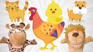 ABC Kids Puppet Show | Learning English Alphabet Number Colors With Lio