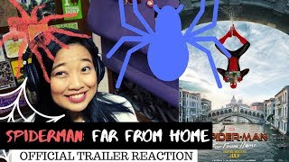 MULTIVERSE IN ACTION || Spiderman:Far From Home Official Trailer Reaction