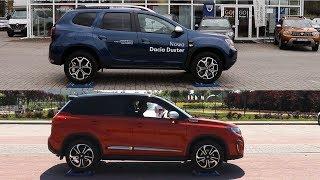 New 2018 Dacia Duster 4WD vs Suzuki Vitara S All Grip - 4x4 test on rollers - AUTO & LOCK