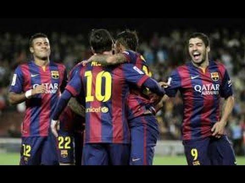 Todos los goles BARCELONA 6-0 GETAFE | 28/04/15 | JORNADA 34 | HD