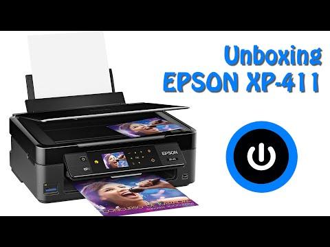 Unboxing y primeras impresiones EPSON XP 411 en ESPAÑOL