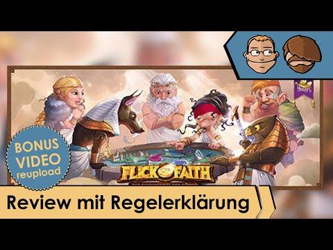 Flick of Faith - Brettspiel - Review und Regelerklärung