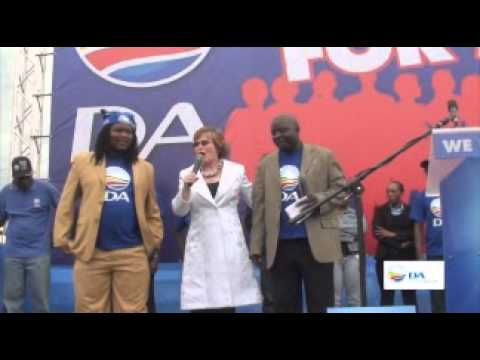 Helen Zille - DA National Freedom Day Rally - 2011 Highlights
