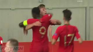 Portugal U19 vs Italy U19 2-3 (GOALS HIGHLIGHTS) Euro U19 Championship ~ 19-07-2018