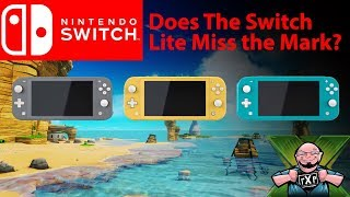 Is the Nintendo Switch Lite A Miss? Several Key Features Left out! We Discuss What We know So Far!