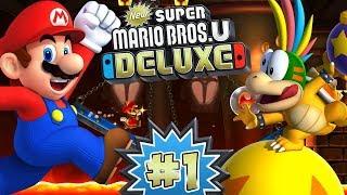 ABM: New Super Mario Bros U Deluxe!! Gameplay Walkthrough # 1 ??