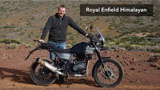 Royal Enfield Himalayan - exkluzivní test na Tenerife