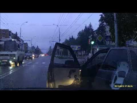 ДТП Адыгея беспредел днем в центре города