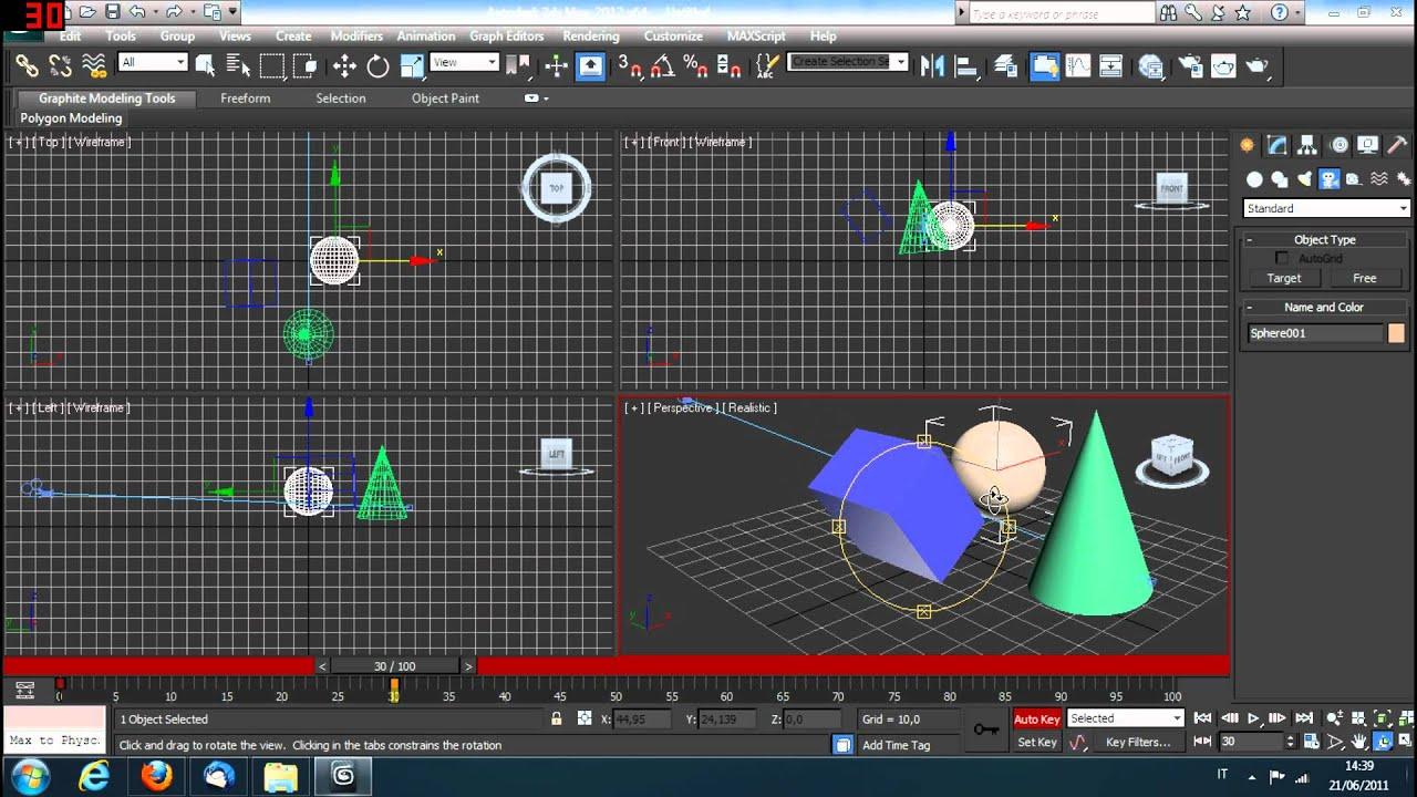 3d studio max tutorial camera e animazioni italiano for 3d studio max
