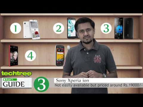 Top 5 Smartphones under Rs.20000