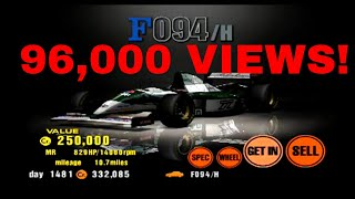 Gran Turismo 3 Like the Wind! 96,000 VIEWS! Driving in the F094/H! CLOSE RACE!