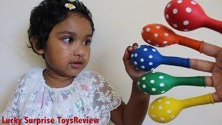 Happy Toddler Ishfi Learn Colors with Balloon & Pre School Nursery Rhymes