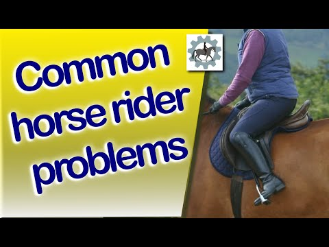 Common Riders Problems - Horse Riders Mechanic - revised version.