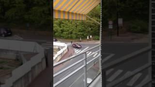 Yerres danger carrefour Coty mistral  auto école qui respecte le STOP !!! 17 04 2017
