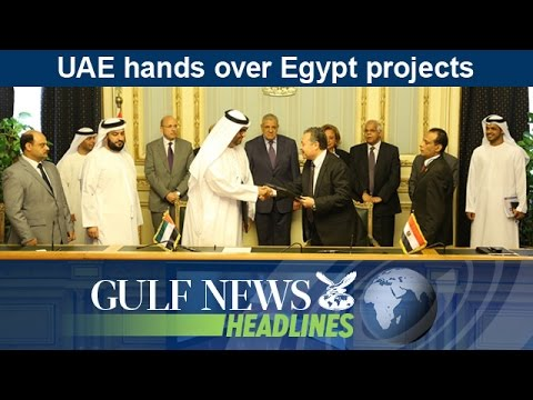 UAE hands over Egypt projects - GN Headlines