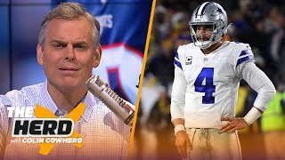 Colin Cowherd talks Patriots' vulnerability and the tough future for the Cowboys | NFL | THE HERD