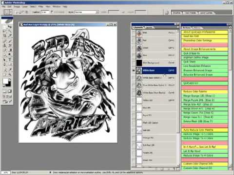 Photoshop Screen Printing Color Separations Part 1