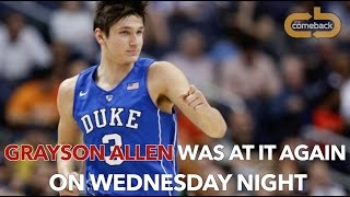 Grayson Allen - A history of tripping