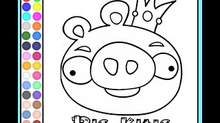 Angry Birds Coloring Pages - Coloring Pages For Kids