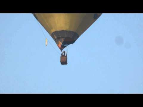 Воздушный шар над Киевом 10.03.2015
