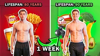 I Became the Healthiest Human Being in the World for 1 Week