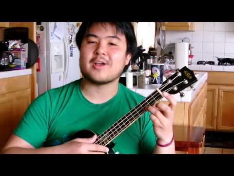 Easy Uke Songs - Somewhere Over The Rainbow Tutorial (brother Iz) video