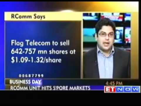 RComm to raise: 1bn via Flag Telecom IPO in Singapore