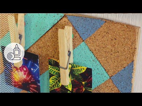 Lindo corcho para pared - detalle con fotos (How-to)