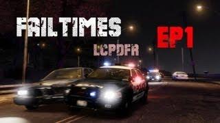 LCPDFR GTA IV mod FR Ep 1 : Flic Débutant