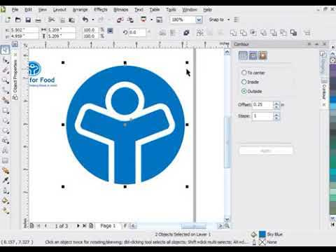 Creating a logo in CorelDRAW® Graphics Suite X4