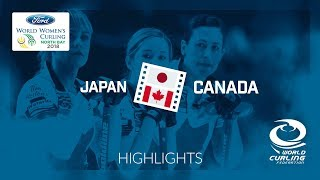 HIGHLIGHTS: Japan v Canada – Round-robin – Ford World Women's Curling Championship 2018