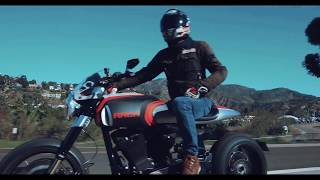 Los Angeles Arch Motorcycle and Cirrus Experience
