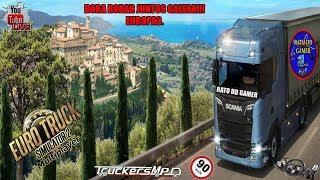 🎤🐭 LIVE Euro Truck Simulator2/Trucks MP/ Bora Rodar Junto Galera!!🐭🎤!
