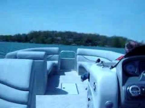 600 Hp South Bay Trifecta Pontoons  Fastest Pontoon video