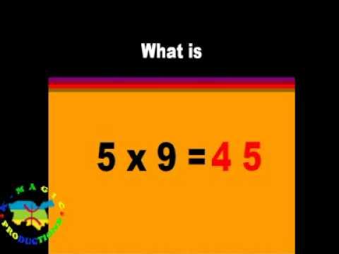 La table de multiplication astuces youtube - Youtube table de multiplication ...