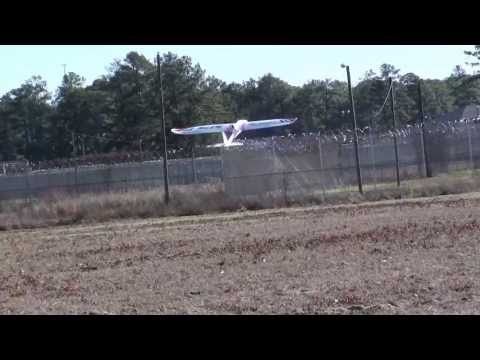 BlitzRCWorks Super Sky Surfer RC Sailplane Glider (1-19-14)