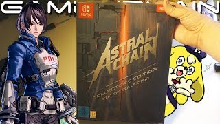 Astral Chain Collector's Edition UNBOXING