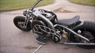 DEUTZ-Rocker Diesel Motorcycle MAH711 Homemade Custom Chopper Bobber