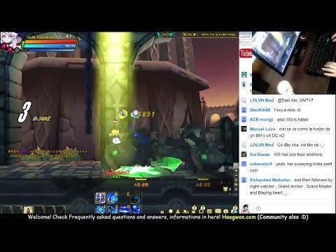 [Elsword KR] LuCiel test playing : Live streaming #72