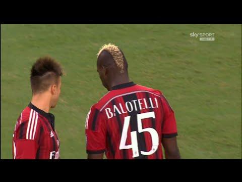 Mario Balotelli vs Liverpool   International Champions Cup 2014