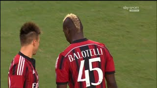 Mario Balotelli vs Liverpool | International Champions Cup 2014