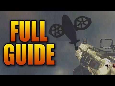 FULL Exo Zombies Main Escape Easter Egg Tutorial + Diamond Mk 25 Guide (All Steps)
