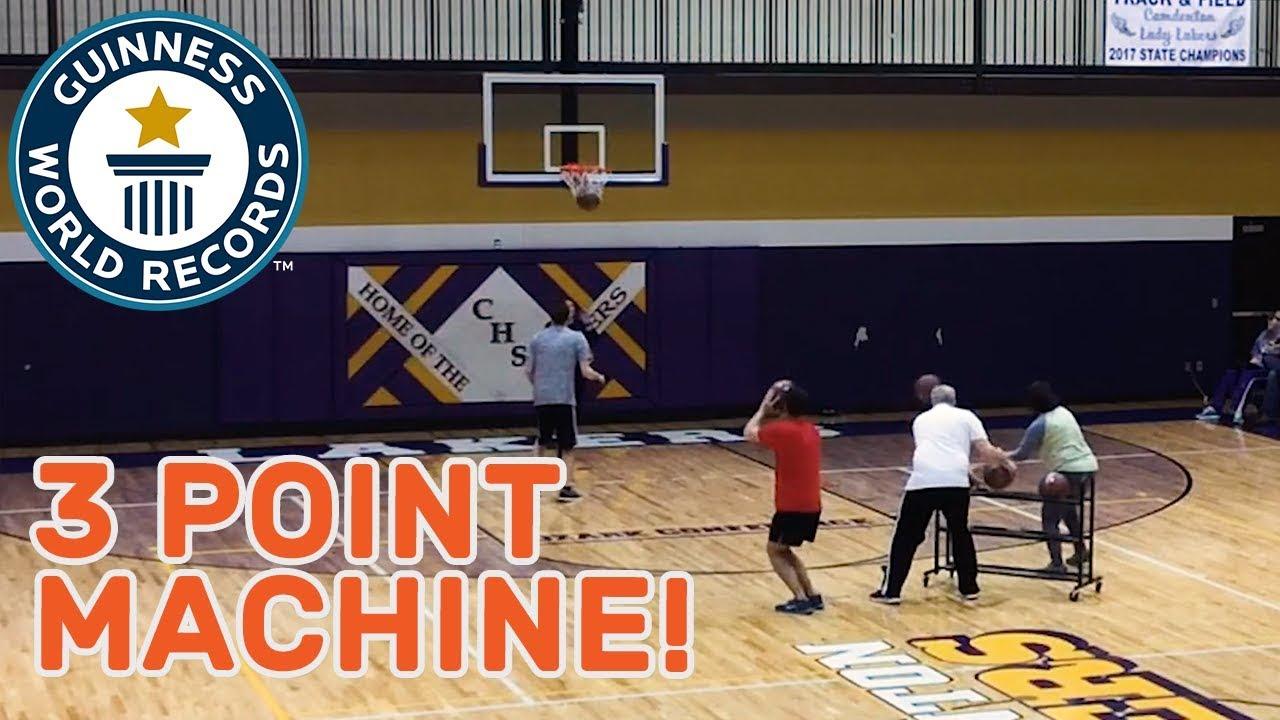 3 Point Machine Guinnes Record - ባለም የድንቃድንቅ መዝገብ ላይ የሰፈረው በ2 ደቂቃ ውስጥ 3ነጥቦችን የሚያስቆጥረው ሰው